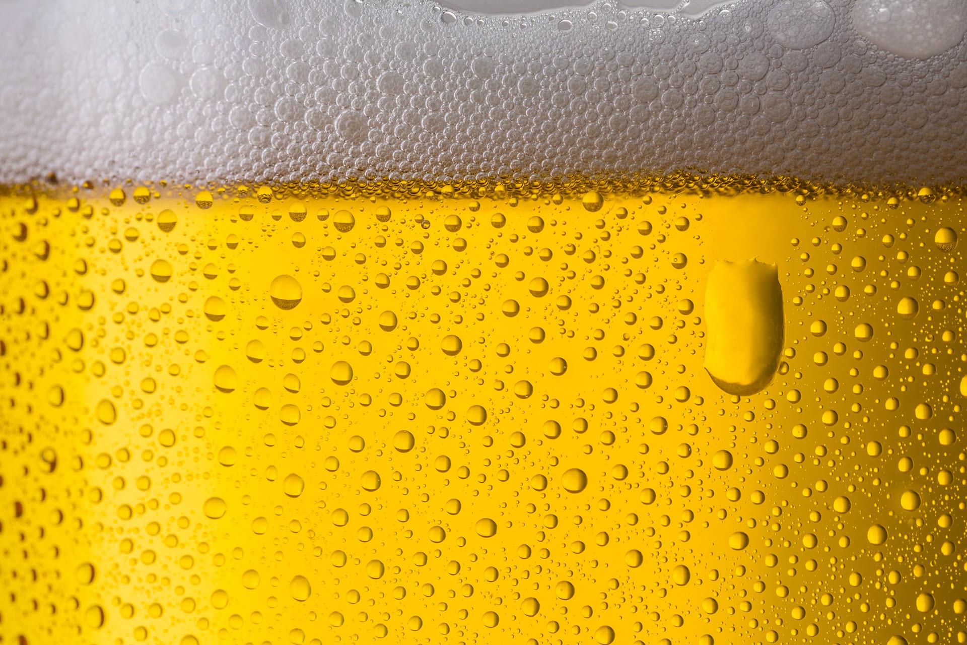 Gepflegtes Bier vom Fass